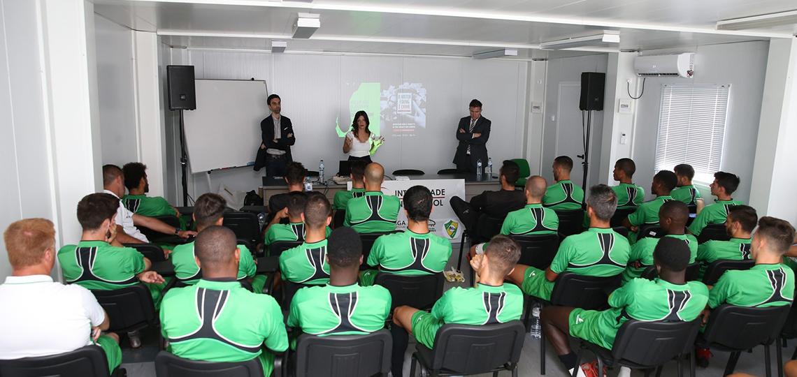 """""""Integridade no Futebol"""" completa primeira fase do ciclo formativo"""